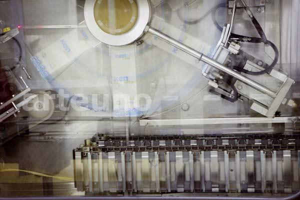 Foto industrial de elaboración del producto - proceso productivo