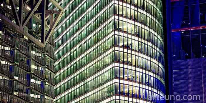 Fotografia arquitectonica de edificios de oficinas