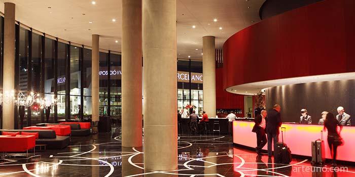Imagen de interior de hotel - fotografia de interiores