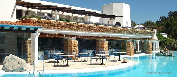 Fotografía de arquitectura de resort turistico