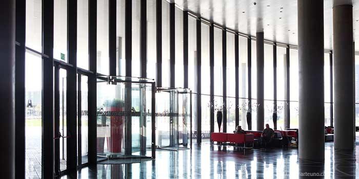 Fotografia de arquitectura de espacios de un hotel