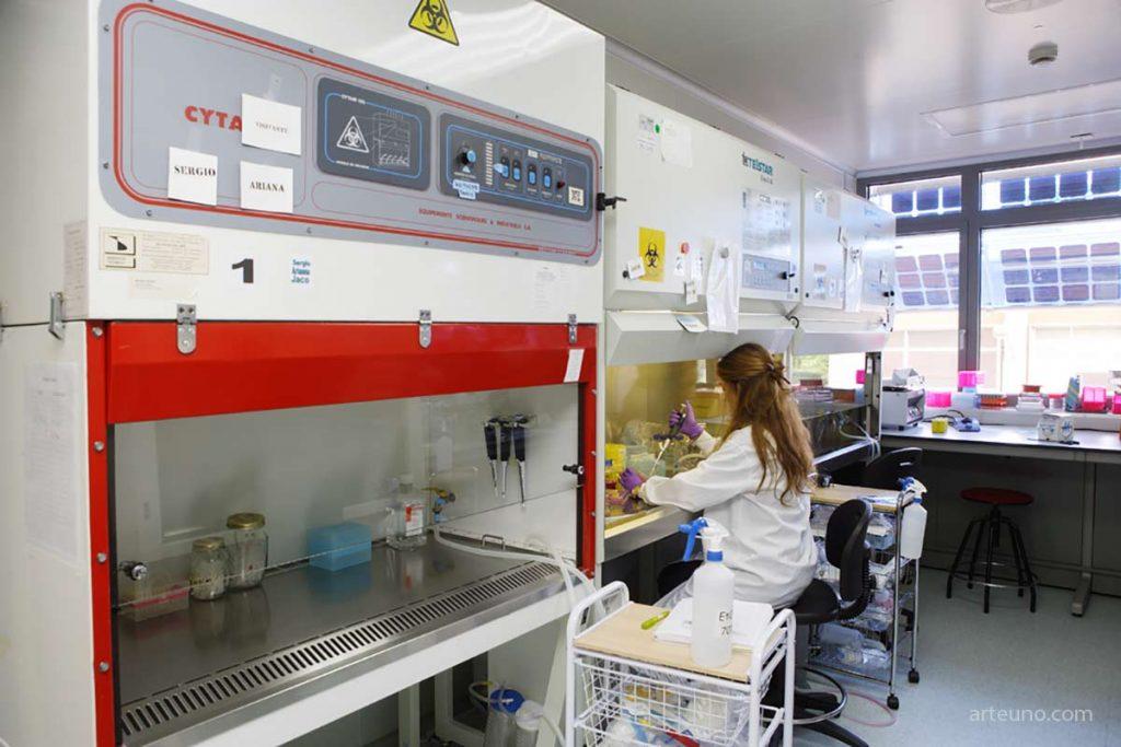 Fotógrafo de laboratorio