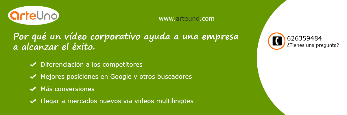 Productora de videos en Madrid