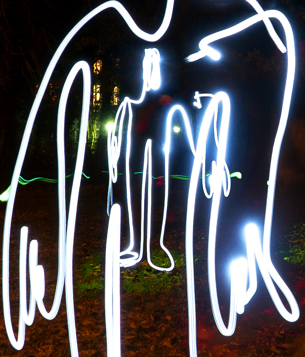 Fotografo Light Painting